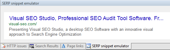 SERP snippets emulate updated Google layout