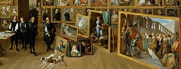 Archduke Leopold Wilhelm in his Gallery at Brussels, by David Teniers the Younger