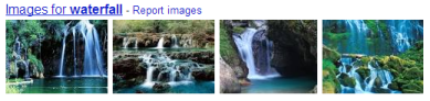 Google images for term waterfall