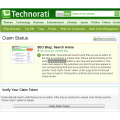 Plz Technorati change claim method!