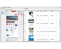 Screenshots management - Visual SEO Studio
